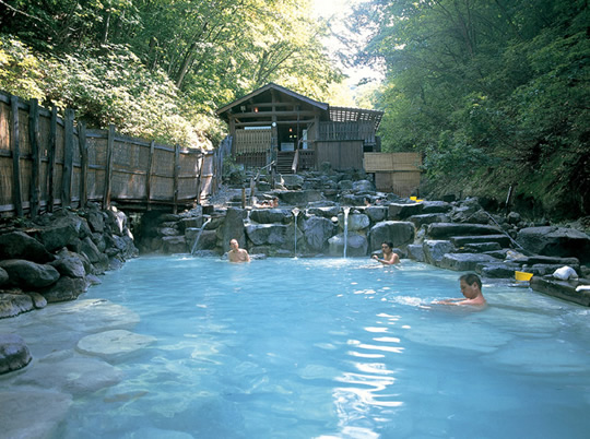 蔵王温泉の写真