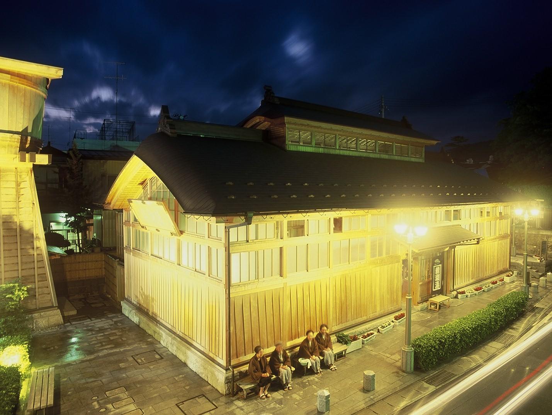 飯坂温泉の写真