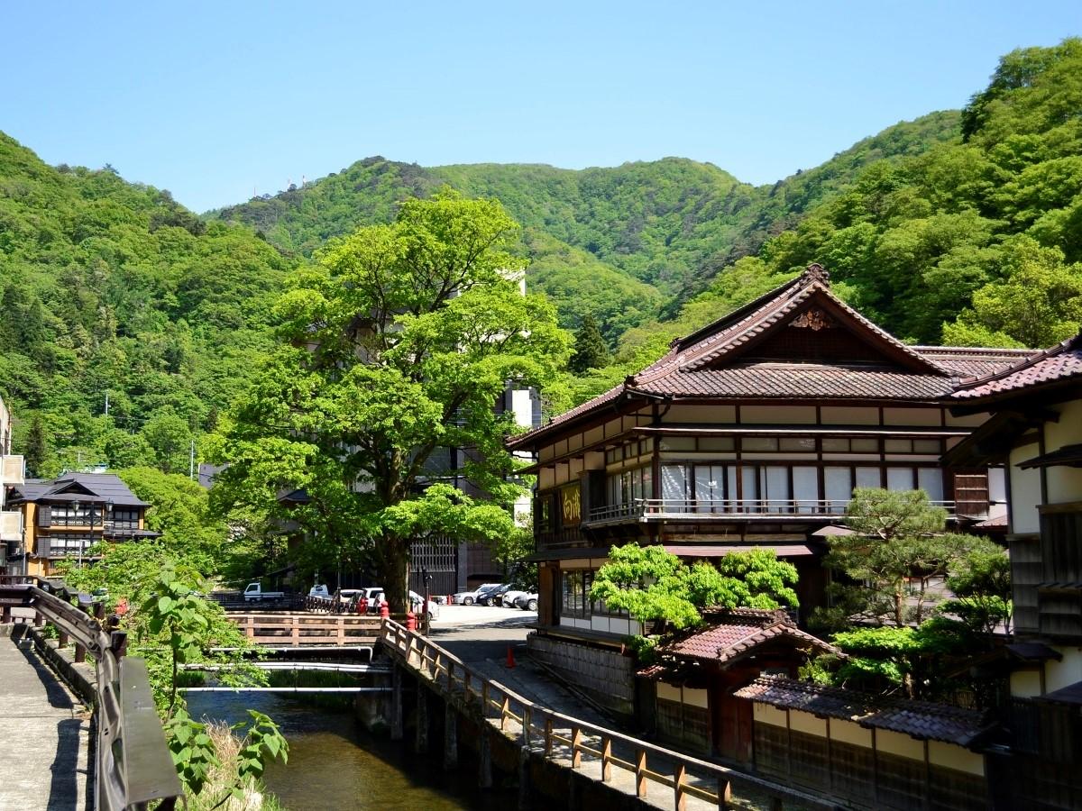 会津東山温泉の写真