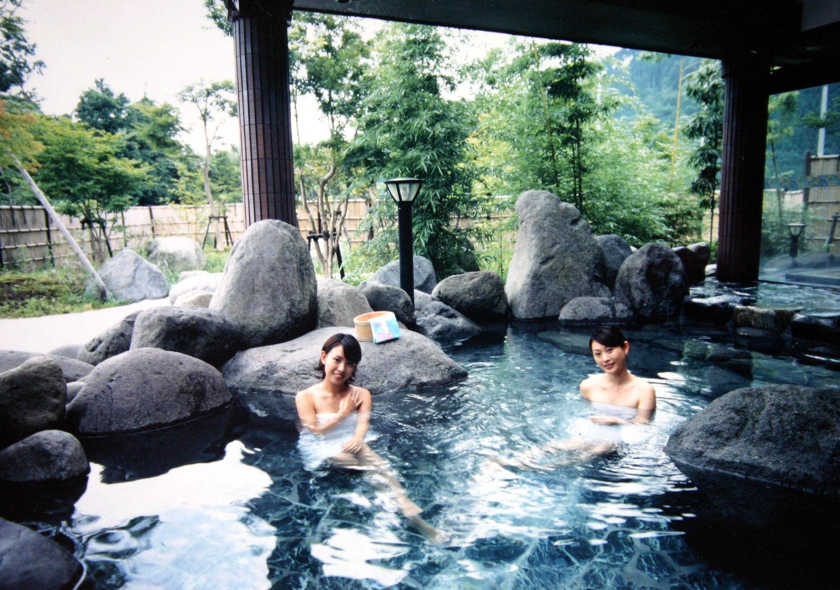 日光温泉の写真