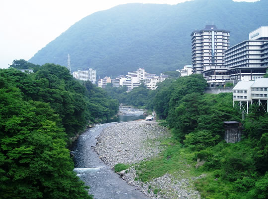 鬼怒川温泉の写真