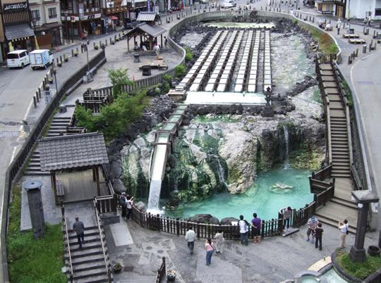 草津温泉の写真