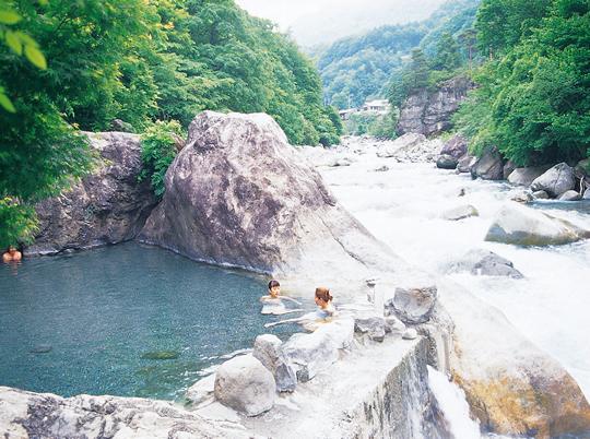 奥飛騨温泉郷(新穂高温泉)の写真