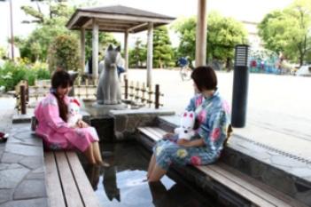 湯田温泉とその他の温泉の写真