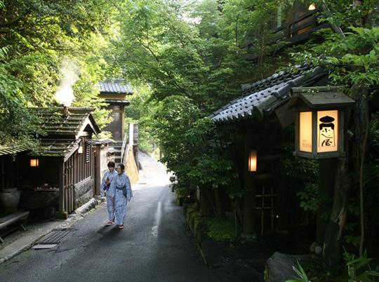黒川温泉の写真