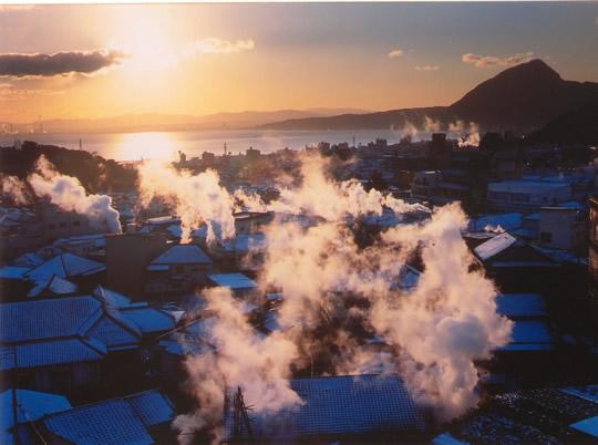 別府温泉郷の写真