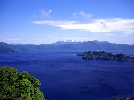 十和田湖の温泉の写真