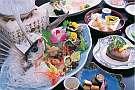 日本海の海の幸をふんだんに取り込んだ会席料理(イメージ)