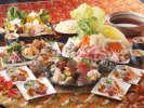 入館料とお料理がセットでお一人様4,200円(税別)~!(写真はイメージです)
