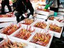冬には毎日美味しい蟹がたくさん上がります