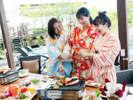 【BBQ】焼いて♪あぶって♪食せ食せ~!グループにぴったりのワイワイプラン!