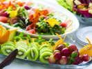【朝食和洋ビュッフェ】洋食の一例 シャキシャキサラダを大分ならではのドレッシングで