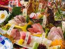 【土佐銘魚七種盛り皿鉢】料理長厳選!地元漁師さんから直接仕入れた高知ならではの魚をたっぷりと堪能♪