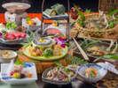 自然豊かな南飛騨・下呂厳選した食材で仕上げました。貴方の目に、舌に、「幸福」をお届けします