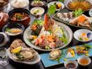 """【グレードアップ料理-美味魚編イメージ-】『海からのごちそう』を""""一番美味しい時""""に味わえる喜びを。"""