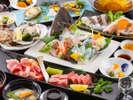 【美味の饗宴料理イメージ】一品一品にひと手間を加えた会席。品のある美味しさ、どうぞお召し上がり下さい