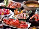 【冬の味覚】これぞ王道♪かにフルコース。焼き、刺し、茹で、かにすき大鍋、雑炊まで、心ゆくまで。、