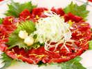 馬肉消費量が全国2位の長野県。美味しい馬刺しをご用意しています。