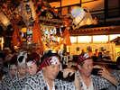 【白根神社祭礼】7月17・18日に開催するお祭。おみこしが街中を練り歩き活気のある2日間です。