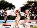 レイクサードガーデン☆週末はエンターテイメント☆フラダンスステージ「カ・ラー・オ・ハワイ」