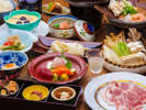 ■やまと豚会席■群馬県産ブランド豚「やまと豚」をメインに使った和食膳。
