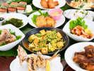 【南風屋台村(リゾート内)】沖縄料理などを気軽に楽しめます。