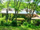 石窯ピッツァのおいしい宿 フラワーガーデン:【外観】石窯ピザ屋さんが営んでいる宿 フラワーガーデンへようこそ!!