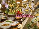 名物「おばんざい料理」はコース+ハーフバイキングの人気プランで!当宿イチオシ!