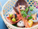 秋のお料理一例:前菜