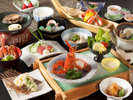 【奥駿河】厳選された海鮮をお楽しみください。