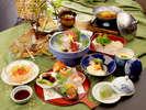 夏の味覚『懐石料理』