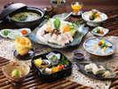 天然九絵(クエ)鍋料理
