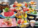 2018年4月~2018年9月 日本料理の伝統を継承する旬会席11品(季節や仕入により内容が変わります)