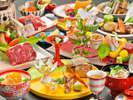 2018年10月~2019年3月 日本料理の伝統を継承する上質素材の特別会席11品(イメージ)