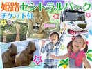 大人気のサファリパーク!姫路セントラルパークチケット付プラン!
