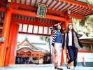 【青島神社】恋愛成就のスポットとして人気!車で約30分。