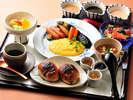 *パンにサラダやスープなどが付いた「洋朝食」