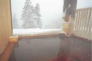 露天風呂で雪見風呂はいかがでしょうか