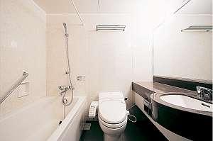 県内ビジネスホテル1番のひろびろ浴槽&ウォシュレット付トイレ