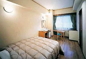 シングルルームもWベットでゆったりとした空間をご提供