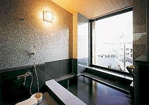 展望温泉付和洋室(浴室)天然温泉の内湯しかも展望!