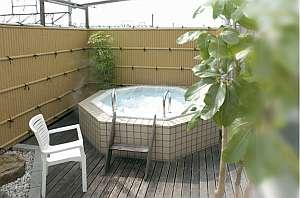 大浴場 男性側には露天風呂付き