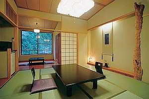 露天風呂付客室 一例