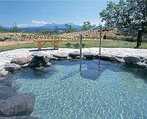 日を浴びながらの温泉は気持ち良い!