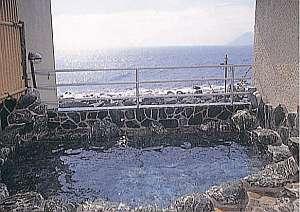 【温泉民宿 船長】目前は伊豆七島一望の海!新鮮海の幸と貸切露天堪能