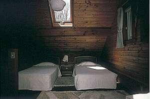 天窓付きのお洒落な寝室【一例】