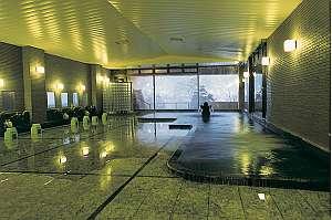 【大浴場】下呂の湯たっぷり男女別の浴場