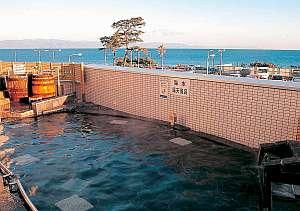 海を一望できる露天風呂