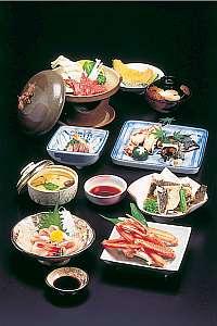 会席料理の一例(1人前)