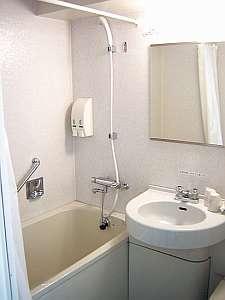 モデレートセミダブル・ダブル・ツインのバスルーム。ユニットタイプ